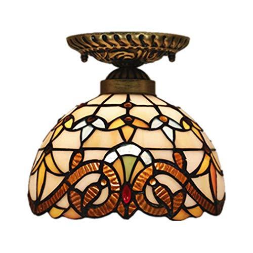 Lage prijs tafellamp bedlampje kristallen kroonluchter wandlamp plafondverlichting plafondverlichting 8 inch glad schilderij plafondlamp, slaapkamer eetkamer balkon studie barok creatieve slinger