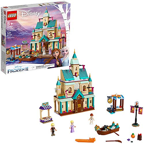 LEGO Disney Frozen II Arendelle Castle Village 41167 Toy Castle Building Set with Popular Frozen Characters for Imaginative Play (521 Pieces)