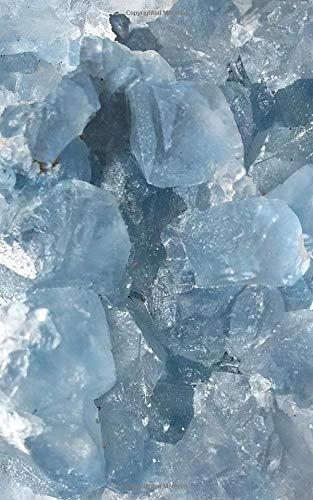 Celestite Crystal Journal (Plain Gemstone Notebook)