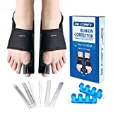 Bunion Corrector-Dr. Comfy, Orthopedic Bunion Splint, Big Toe Separators for Men and Women Toe Straightened,Foot Care...