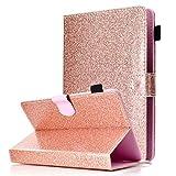 MYTHOLLOGY Universal 9-10 inch Tablet Case, Bling Glitter
