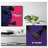 Sanwooden Major Lazer Poster Rapper Musikalbum Kunst Poster