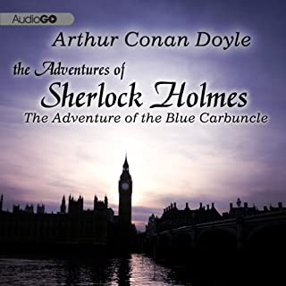 Sherlock Holmes: The Adventure of the Blue Carbuncle cover art