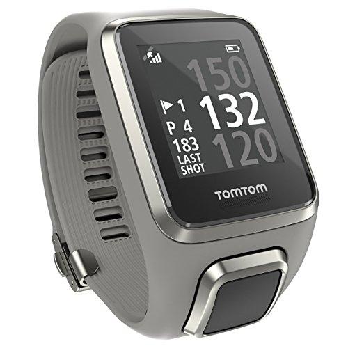 TomTom Golfer 2 - Reloj de Pulsera GPS, Color Gris Claro, Talla L