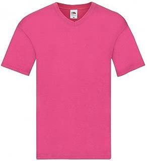 Fruit of The Loom Mens Original V Neck T-Shirt