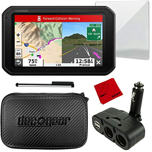Lowest Prices! Garmin 7 RV 785 Navigator with Built-in Dash Cam (010-02228-00) and Deco Gear 7 Har...