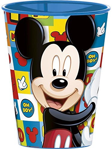 Mickey Mouse kunststof beker klein 260 ml (Stor 22007)