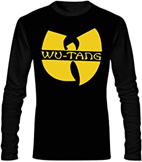 V-Dream Men's Long Sleeve T WU Tang Round Collar Skin-Friendly and Comfortable Casual Clothes