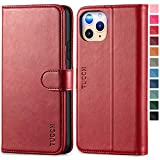 TUCCH iPhone 11 Pro MAX Leather Case, Magnetic Wallet Case