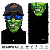 TEFITI Balaclava Face Mask, Multifunctional Headwear Neck Gaiter for Men, 3D Dust Mask Sun UV Dust...