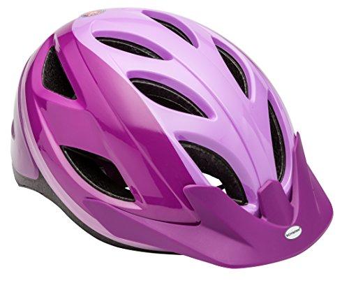 Schwinn Pathway Adult Bike Helmet, Purple