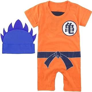 DBZ Baby Onesie Outfits Dragon Ball z Goku Vegeta Baby Clothing with hat
