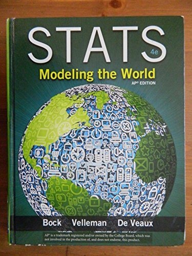 Price comparison product image Stats: Modeling the World AP (NASTA) Edition