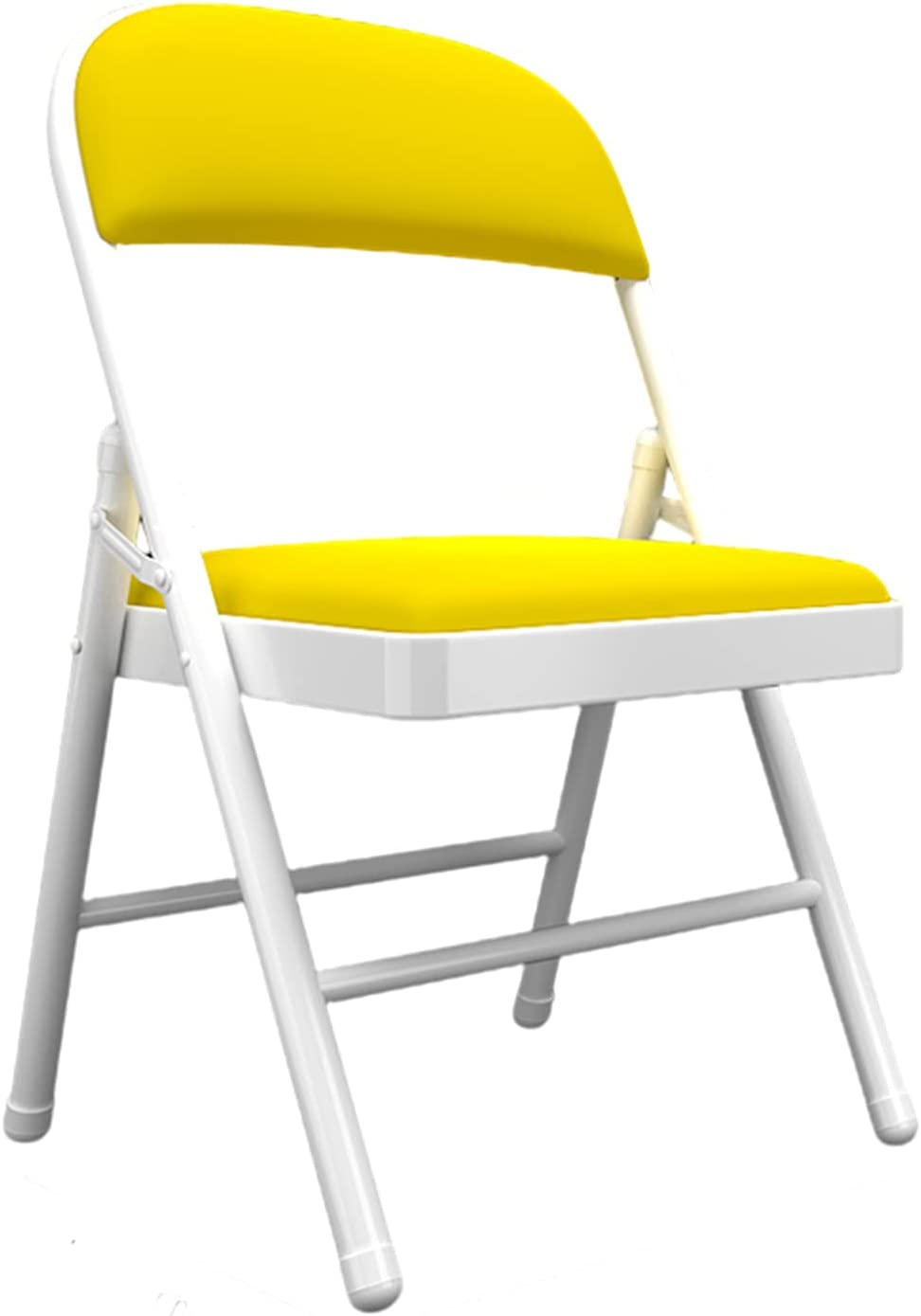 Upholstered Folding Max 69% OFF Chair Metal Easy Popularity