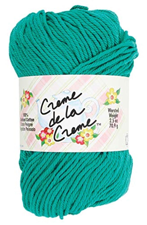 Coats: Yarn 100% Cotton Crochet Thread, Weight: 4, Aqua Jade