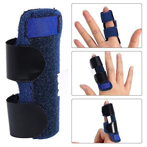 Vobor Fingerschiene - Einstellbare Schmerzlinderung Trigger Finger Fixing Splint Aufrichtung Brace Corrector Unterstützung