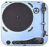 TYX-SS Tourne-Disque Audio Vintage Tourne-Disque Tourne-Disque Valise avec Haut-Parleur Portable LP Vinyle Lecteur USB-Port Portable Valise Musique