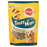 Pedigree Snacks Tasty Mini para Educar a Tu Perro, Sabor Queso y Buey, 140g