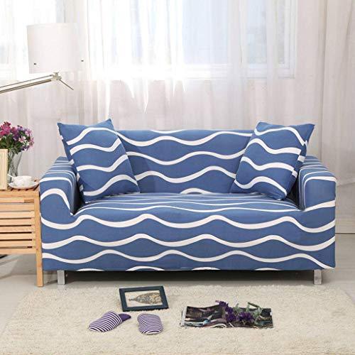 Yaaloo Jacquard-bankovertrek, elastisch, model antislip, polyester, sofa, bescherming voor bank, leuning
