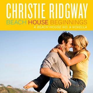 Beach House Beginnings audiobook cover art