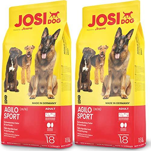 JosiDog 2 x 18 kg Josera Agilo Sport