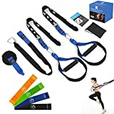 FITINDEX Bodyweight Resistance Trainer Kit, Home Suspension Training Straps, Fitness Resistance...
