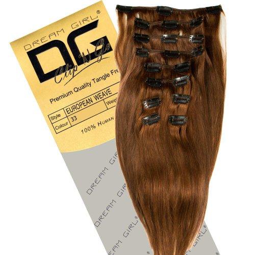 Dream Girl 35,6 cm Extensions de cheveux à clipser Couleur 33