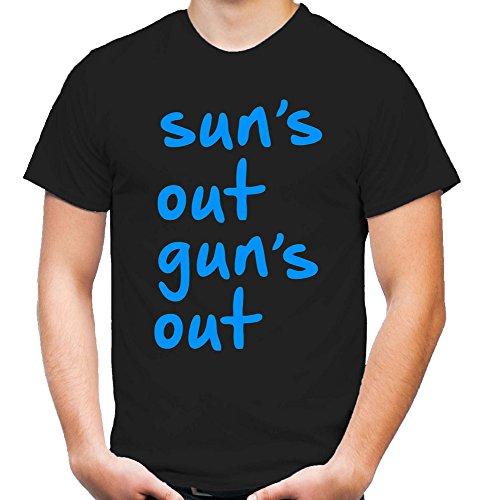Sun's Out Gun's Out T-Shirt | 22 Jump Street | Tatum | Hill | 21 | Fun (M)