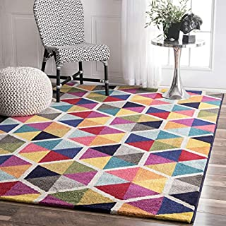 nuLOOM Maris Triangles Area Rug, 5' x 8', Multi (B01LBTB0GG) | Amazon price tracker / tracking, Amazon price history charts, Amazon price watches, Amazon price drop alerts