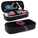 Yuanmeiju Evangelion Eva Ayanami Rei Test 01 Leather Estuche Big Capacity with Zipper High Capacity Pen Pencil Pouch Stationery Organizer Practical Bag Holder