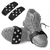 FANBX Crampon Traction Cleats Anti-skid Traction Grips Crampons Spikes 7 Point Cleats