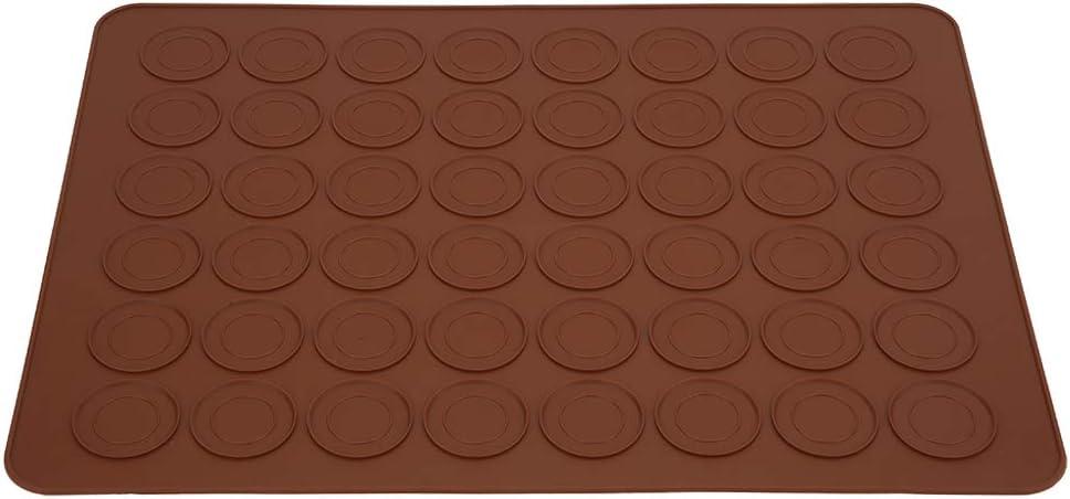 Macarons Max 41% OFF Baking Mat Heat Resistant Silicone 48 Macaron Holes Tra price