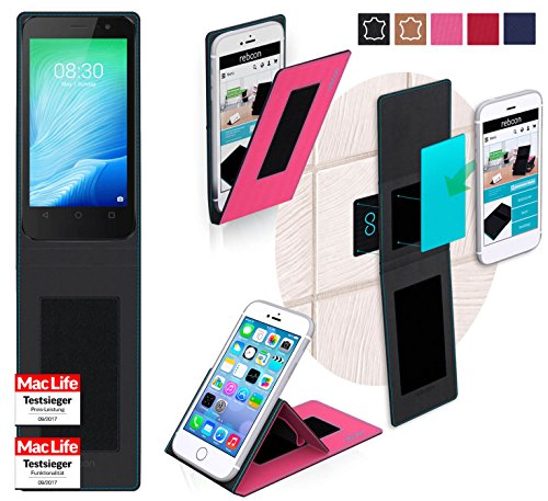 Hülle für TP Link Neffos Y50 Tasche Cover Case Bumper | Pink | Testsieger