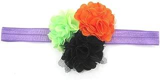 Baby Girls Colorful Halloween Headband Bow Elastic Hair Head Hairband Phtography Props
