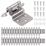 AxPower 30 Packs 3/8' Inset Hinges for Face Frame...