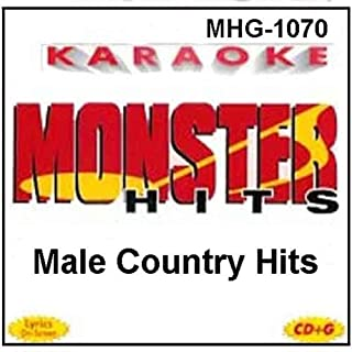 Monster Hits Karaoke #1070 - Male Country Hits