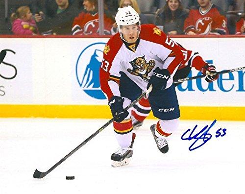 Signed Corban Knight Photo - 8X10 COA A - Autographed NHL Photos