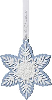 Wedgwood 2019 Holiday Ornaments - Figural Snowflake