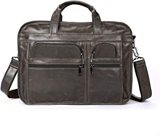 Mens Bag 14 inch 14.1 Inch Laptop Macbook Notebook Tablet Computer Multi-functional Portable Briefcase Messenger Shoulder Carrying Bag High capacity
