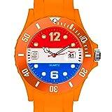 Taffstyle® Fanartikel Silikon Armbanduhr Gummi Trend Watch Quarz Fan Uhr