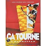 ÇA TOURNE A MANHATTAN Affiche de film - 40x60 cm. - 1995 - Steve Buscemi, Tom...