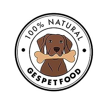 Gespetfood - Viande Séchée pour Chien - Sabot de Vache - Sac de 1,8 kg - 20 Unités Environ - 100% Boeuf - Goût Unique - Os a Macher pour Chien - 100% Naturel - Fabriqué en Espagne