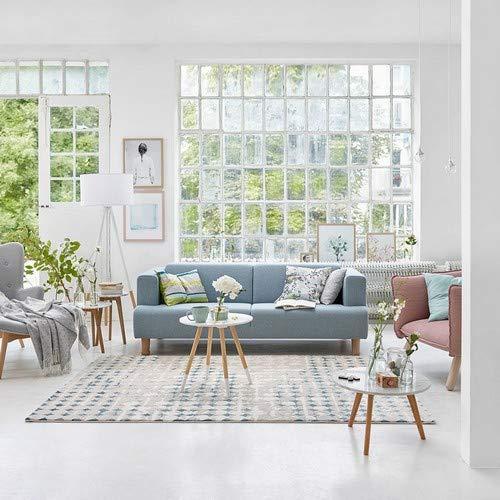 ESPRIT Velvet Spots Moderner Markenteppich, Polypropylen/Polyester, Beige, 170 x 120 x 1.2 cm