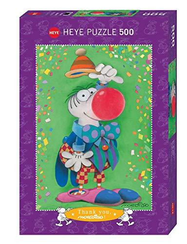 Heye Verlag- Gracias. 500 Piezas estándar, Multicolor (Heye in Athesia Kalenderverlag GmbH 29911)