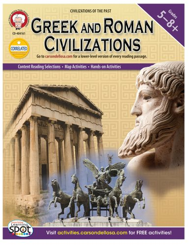 Mark Twain - Greek and Roman Civilizations, Grades 5 - 8 (World History)