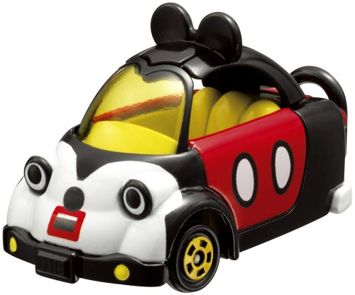 Takara Tomy Tomica Disney Motor Micky Mouse(1 car Models + 1 mini figure in same pack) (japan import)