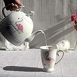 Bollitore elettrico Bollitore in ceramica Automatico Spegnimento rapido Ebollizione rimovibile BOARD BOLL PROTEZIONE DUCCIA 1L 1KW 2 Vassoio per tazza d'acqua dongdong ( Color : Kettle+2 Water Cup )