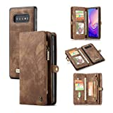 Galaxy S10 5G Wallet Case,AKHVRS Premium Leather Folding Flip...