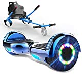 HITWAY 6,5 Zoll Hoverboard mit Hoverkart Elektro Scooter Self Balance Scooter E Scooter für Kinder...