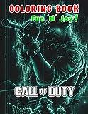 Fun 'N' Joy! - Call Of Duty Coloring Book: A Fun Coloring Gift Book for Call Of Duty Lovers & Adults Relaxation
